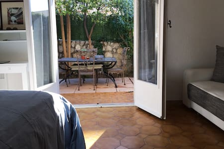 Fantastic Studio with a great outside area.. - Saint-Jean-Cap-Ferrat - 公寓