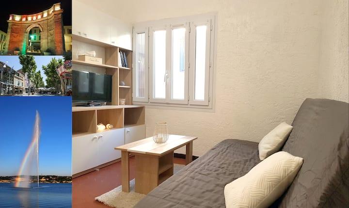 Studio calme idéalement situé à Istres