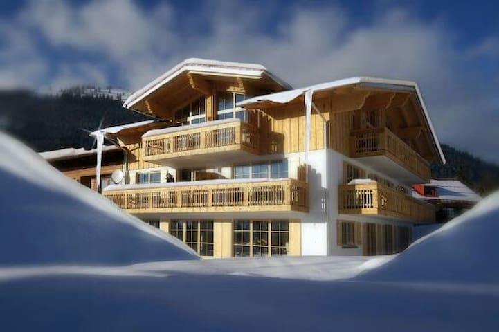 Luxus Ferienwohnungen mit Skipass - Oberjoch - Apartamento