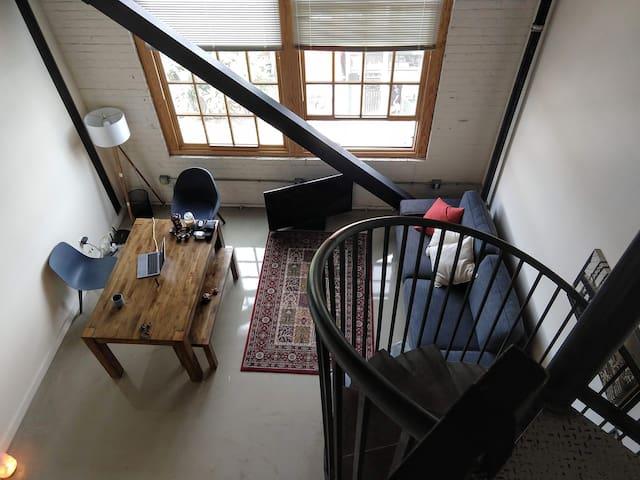 Huge Loft Apartment