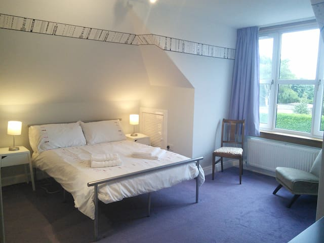 Large double room, private shower room,  breakfast
