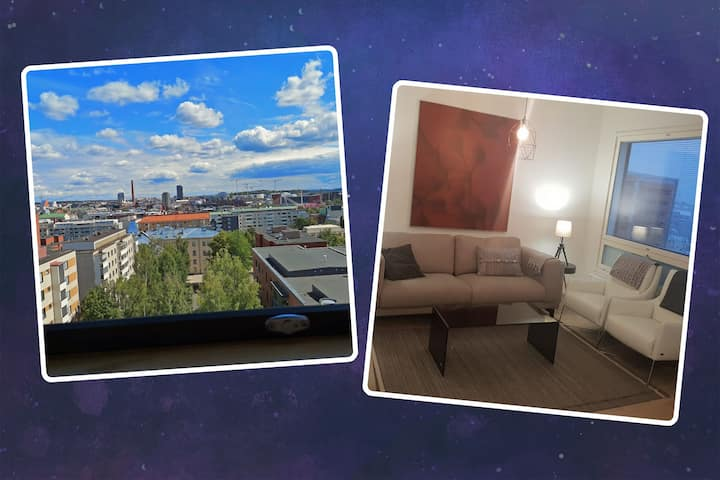 Luxury City Penthouse, with magnific views!