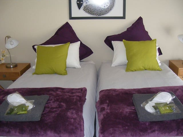 Both King size beds can be converted into Split Kings… you will be able to select your preferred configuration from a link that we will provide in our second email, after confirmation.