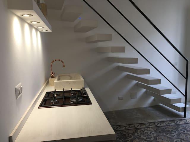 Scala bianca - Cefalù - Apartamento