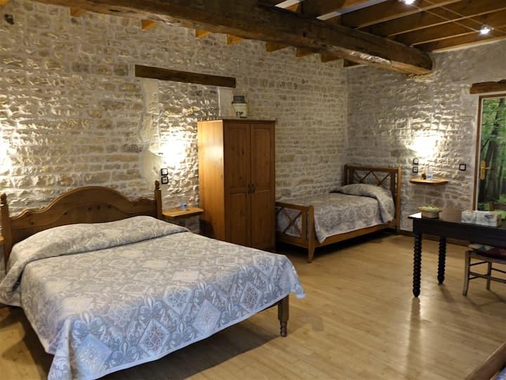 Chambre de charme Venise Verte  15' de La Rochelle