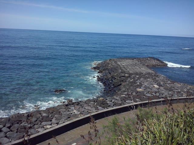 Casa junto ao mar - Sao Vicente