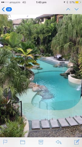 Lovely Resort Living enjoy 9 resort pools!