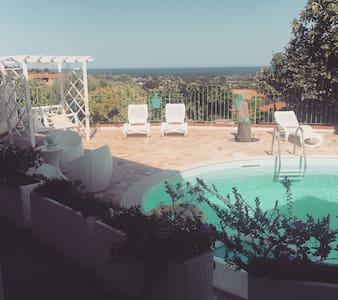 Sardinian typical apartment in Villa with POOL!!TG - Malamurì - 公寓