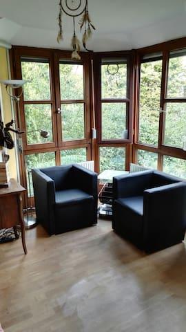 Privatzimmer im Grünen, nah zur Messe und München - Kirchheim bei München - Apartamento