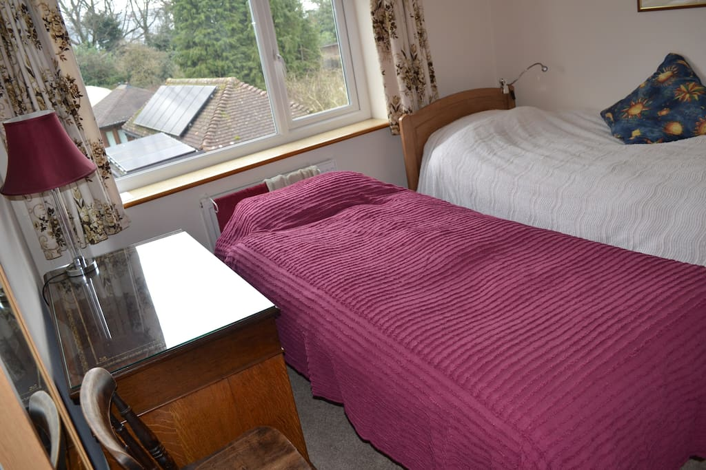 Trundle bed set up... but a bit cramped! See the sofa-bed listing.