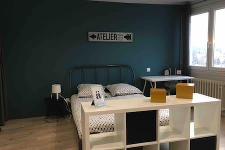 15B-Studio tout confort proche CHU/Fac médecine