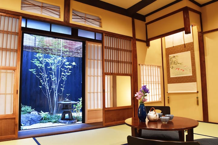 Riverside Traditional house in Kyoto [Kyonoya]