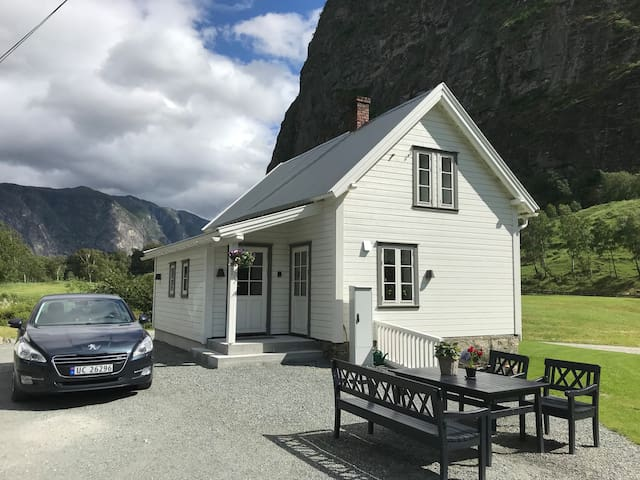 Holidayhouse-Lærdal-culture-close to Flåm & fjords