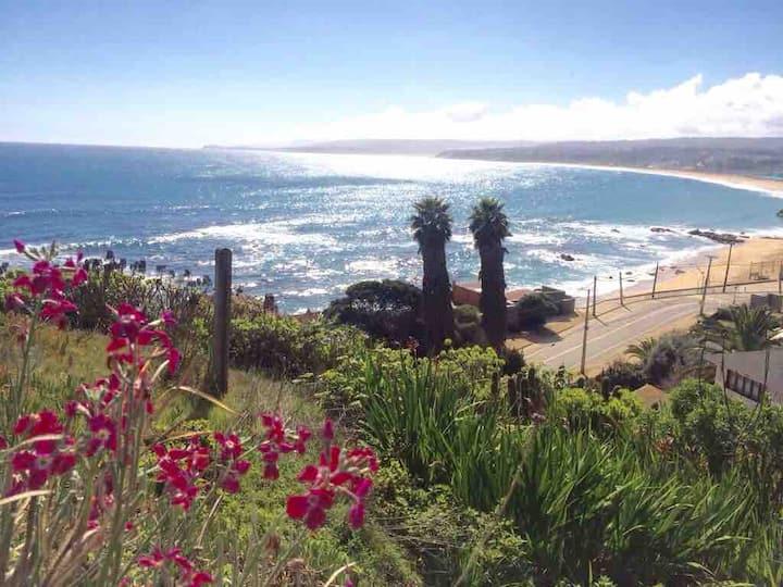 Casa en Algarrobo para ver y escuchar el mar