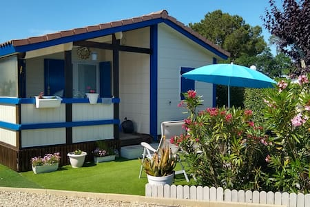 Chalet 2chambres 5pers. Bassin d'Arcachon