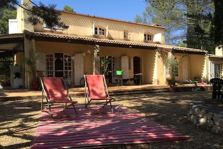 loue maison de charme au milieu de la guarrigue - Combaillaux