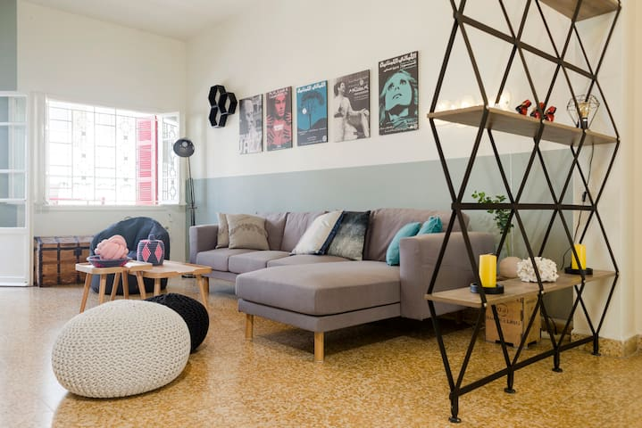 Mar Mikhael 3BD Apartment + Terrace