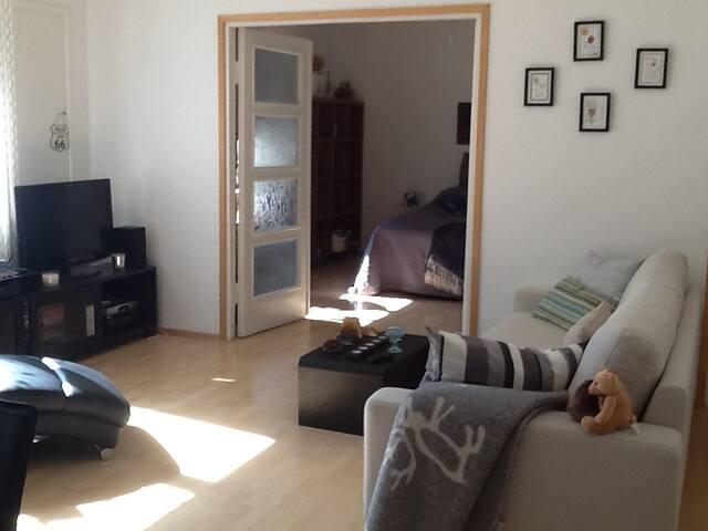 Old 'down town' Lahti, unique apartment.