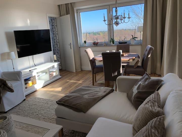 Stilvolle Ferienwohnung mit Nordseeblick