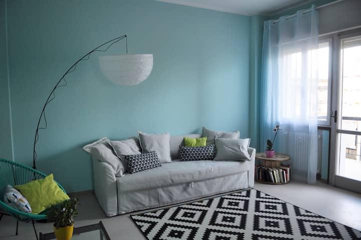 Appartamento fronte mare a Rimini. Casa Saraghina