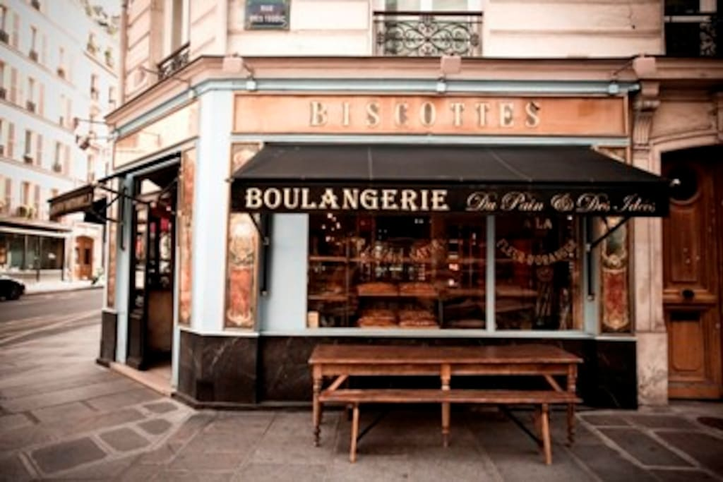 Just above Paris'best boulangerie