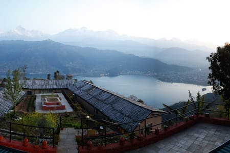 Hotel with the best view - Pokhara
