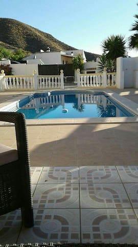 Rustig gelegen woning met zwembad - los torres  - Casa