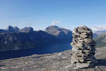 From one of many peaks close to Bodø