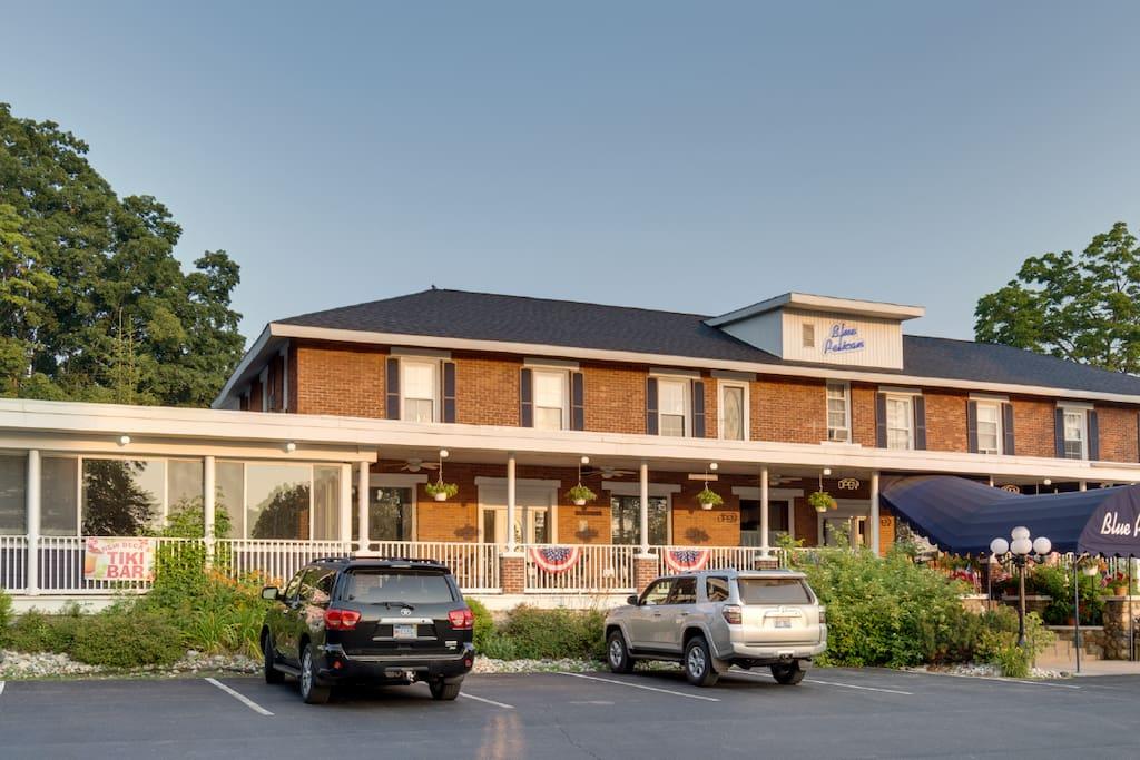 The Historic Blue Pelican Inn