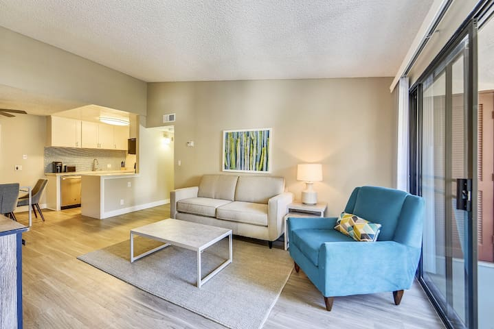 Modern, Clean 1BR, 1BA Located In University City