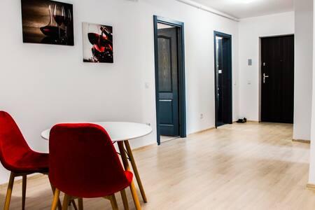 Moder-egyszerű -nagyszerű kellemes apartman