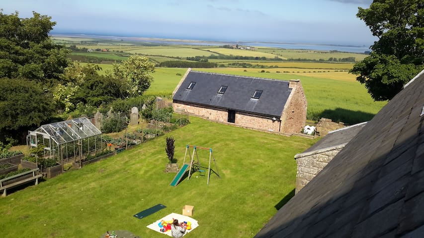 Church Cottage, Sea views, Log fire - Northumberland - Hus