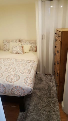 Cozy Bedroom with Drawer Space