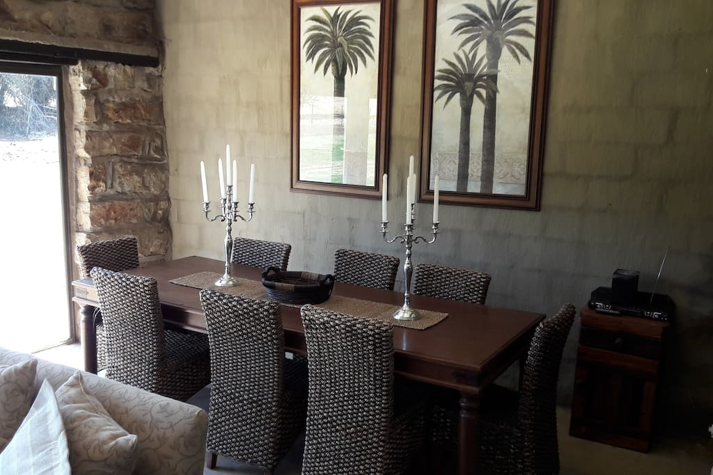 Old Cheese Factory Dining Room