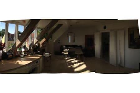 Charming loft central Copenhagen - 哥本哈根 - 公寓