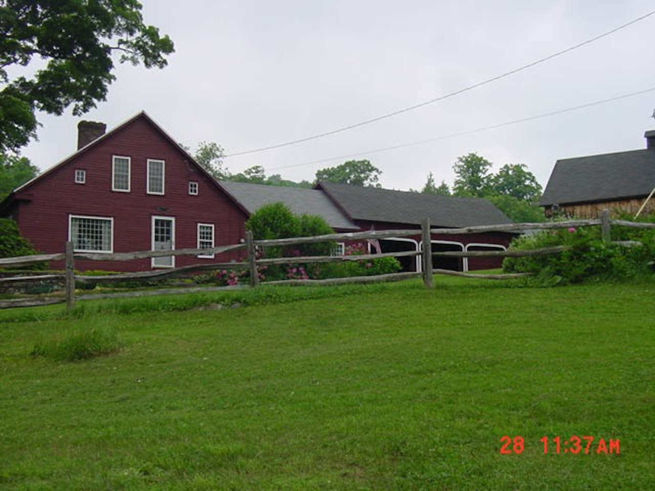 Big house, little house, back house, barn...that's the Earl Henry farm - 1777