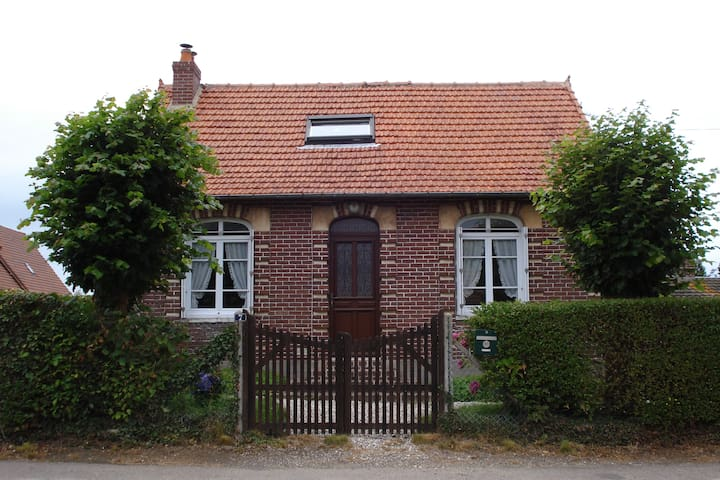 Maison normande entre mer et campagne. - Berneval-le-Grand - Hus