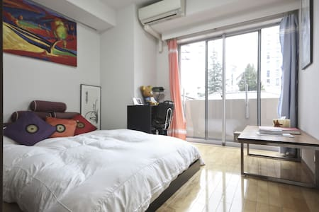 JR Meguro Station Studio Apartment, Chic & Clean - Shinagawa-ku