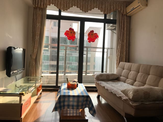 Downtown 2 bedrooms nearby Lok Ma Chau(H.K.) - Shenzhen - Apartment