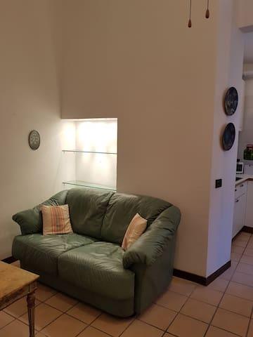 grazioso bilocale arredato in centro - Piacenza - Apartament