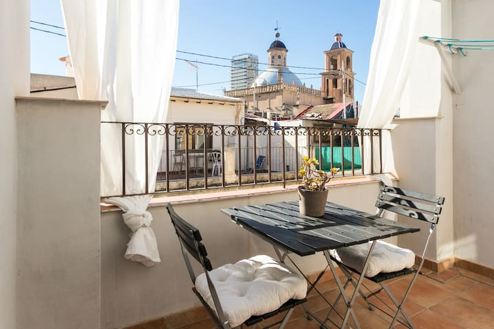 atico en el centro de Alicante