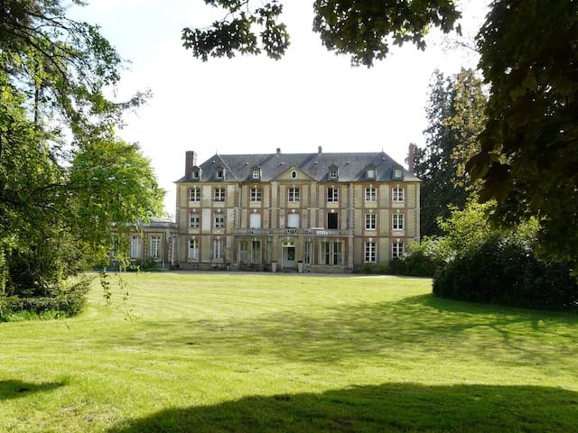 Chambre d'hôtes dans un chateau au nord de Rouen - Bierville - Hrad