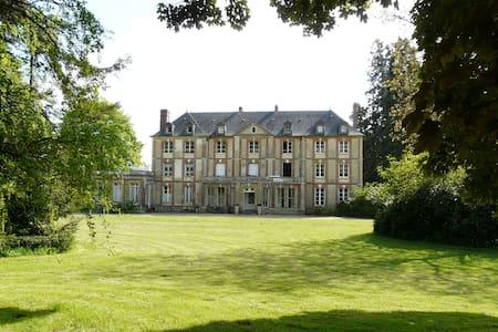 Chambre d'hôtes dans un chateau au nord de Rouen - Bierville - Zamek