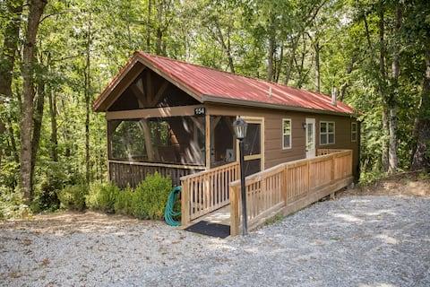 Cozy Mountain Cabin on 80 acre Christmas tree farm