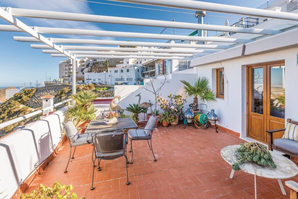 Casa alta mojacar pueblo casas en alquiler en moj car andaluc a espa a - Apartamentos alquiler mojacar ...