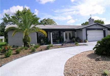 New Port Richey Canal Home - House