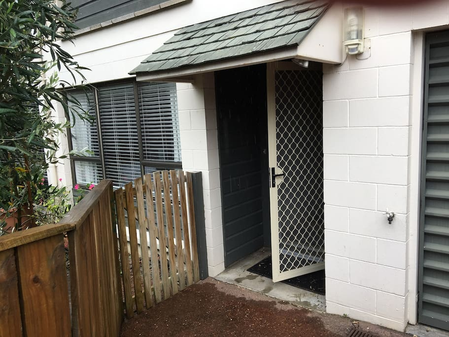 Ground floor unit Garage not available but one car park space and parking on the street