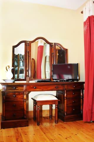 Dressing Table in Michael D. Higgins Suite