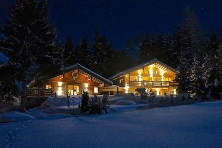 New alpine Ski Chalet and romantic Chalet Nomad - Hinterthal - Chalupa