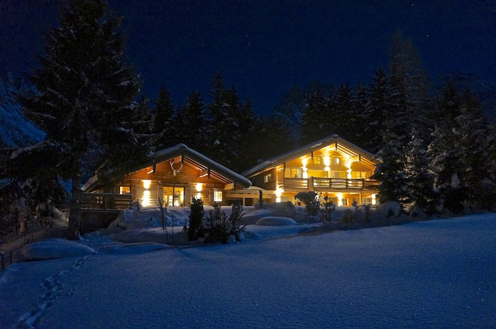 New alpine Ski Chalet and romantic Chalet Nomad